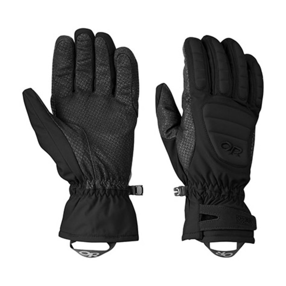 OUTDOOR RESEARCH Contact Gloves - BLACK