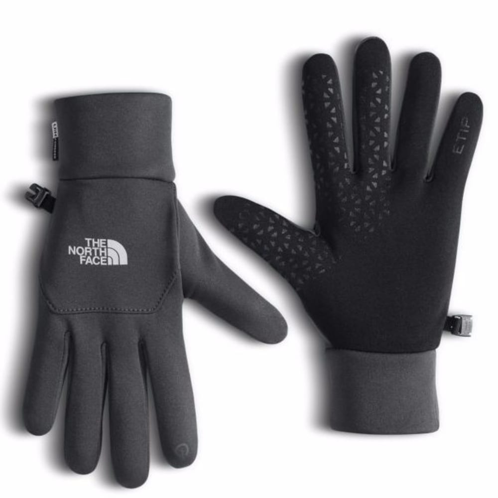 THE NORTH FACE Men's Etip Fleece Gloves - ASPHALT GREY-YNB