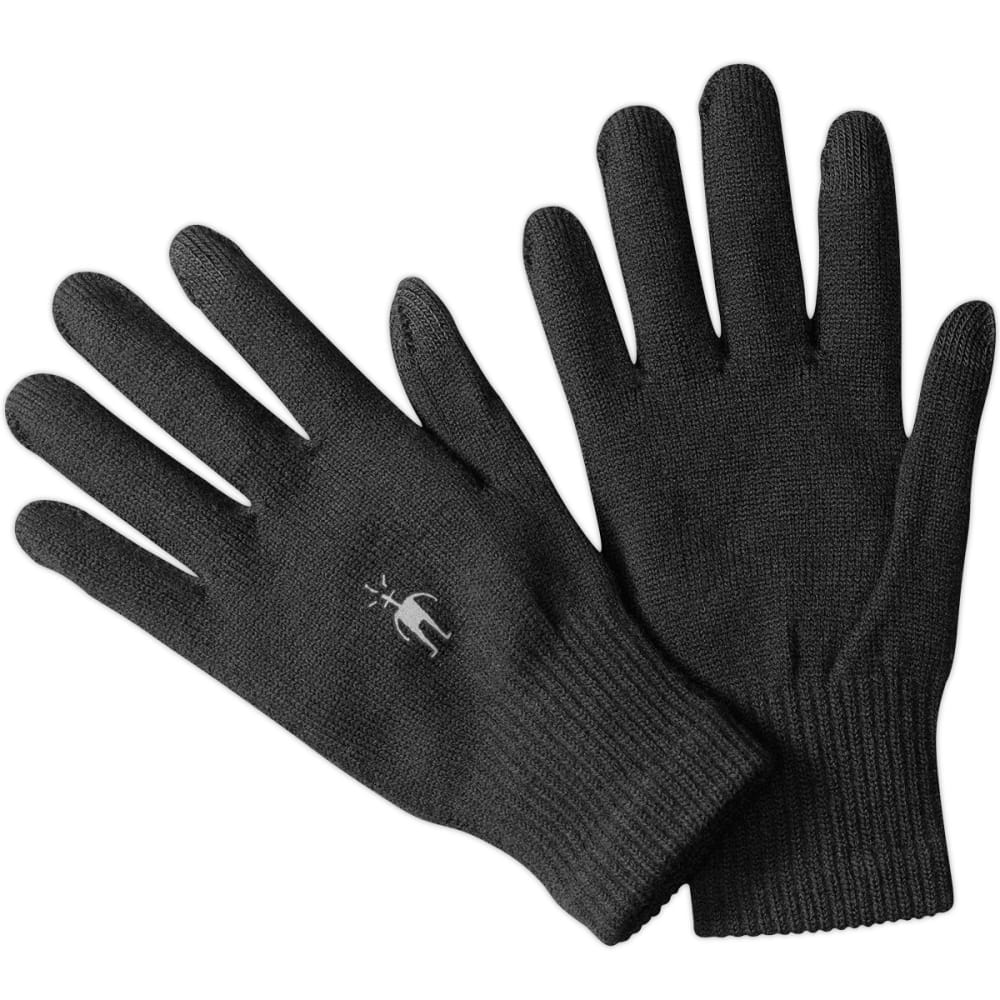 SMARTWOOL Men's Liner Gloves - BLACK 001