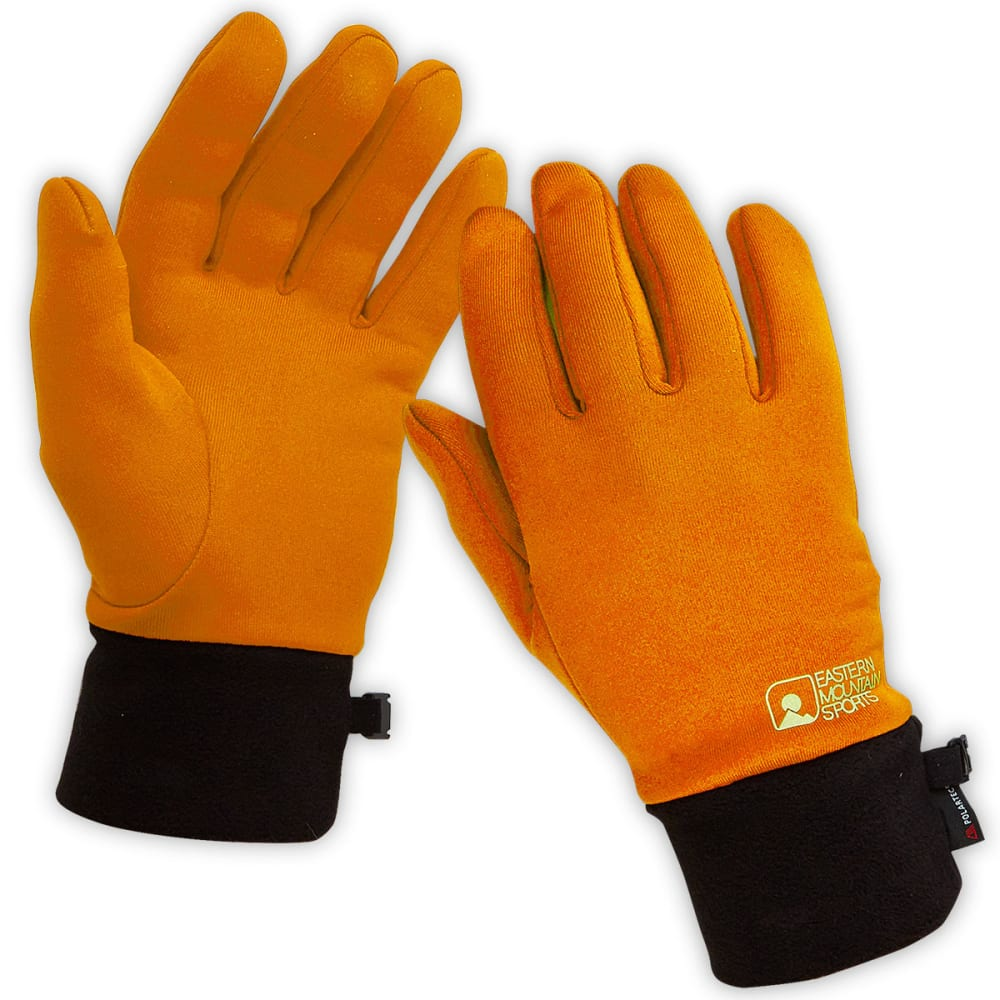 EMS Men's Power Stretch Gloves - BOLD ORANGE