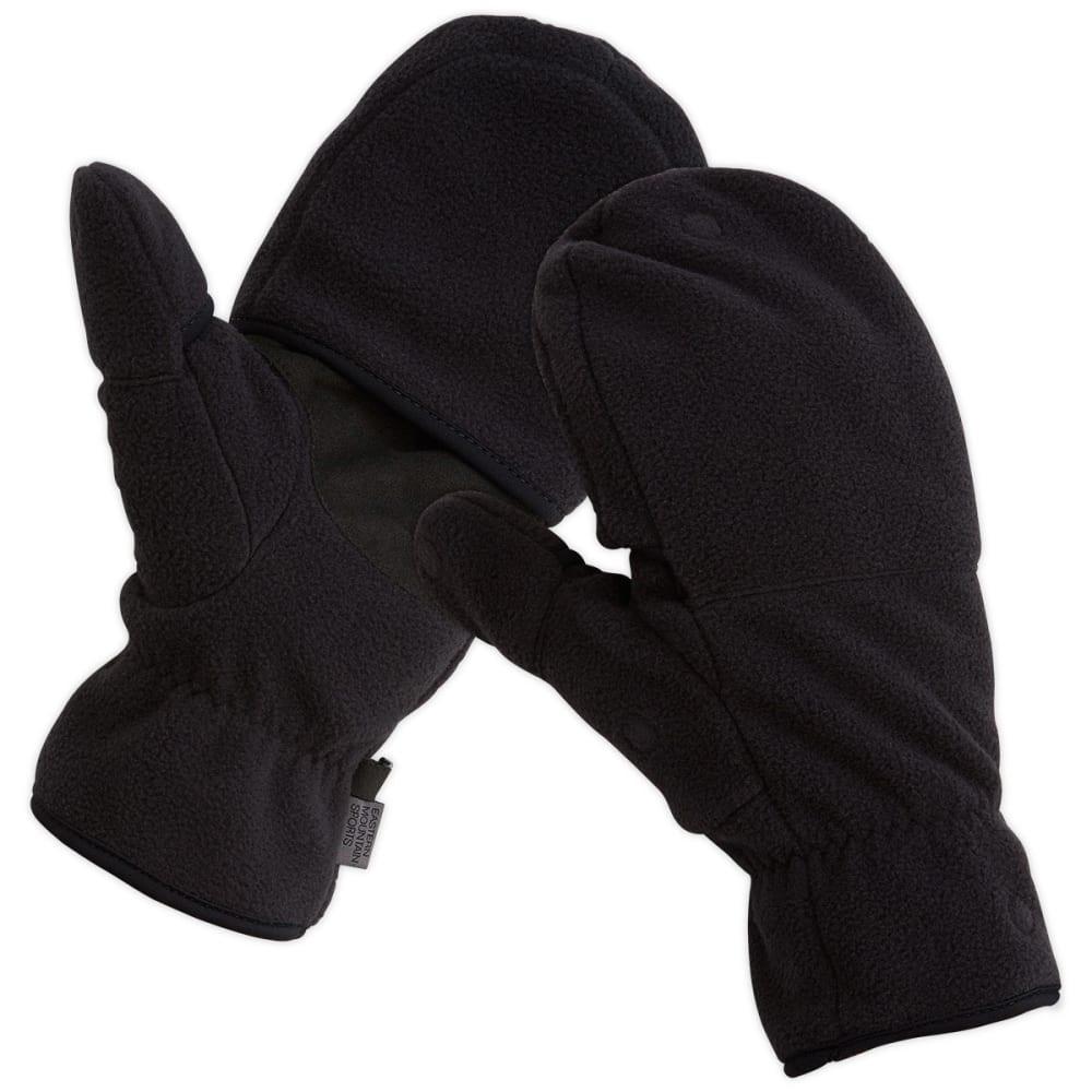 EMS Men's Hyland Fleece Convertible Mittens - JET BLACK