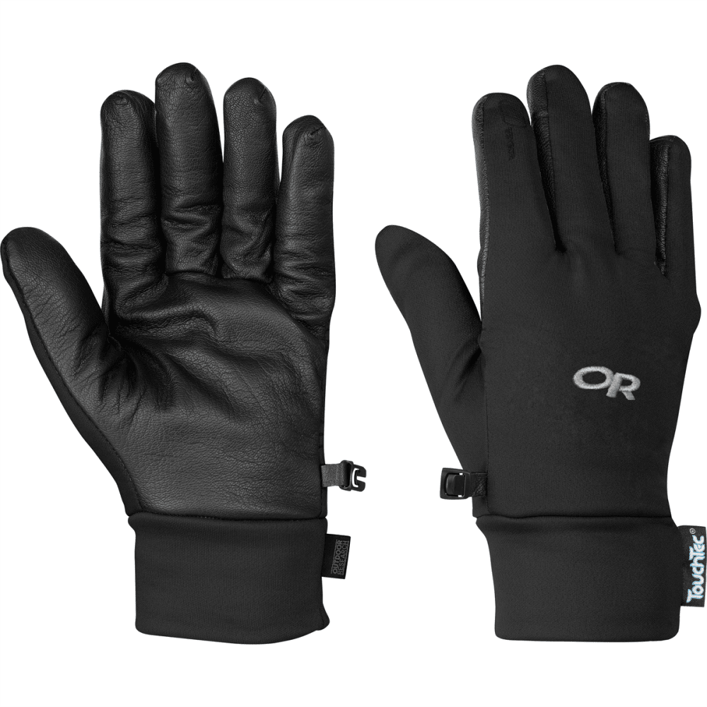 Women/'s Outdoor Research Sensor Touchscreen Gloves Black Size Small S