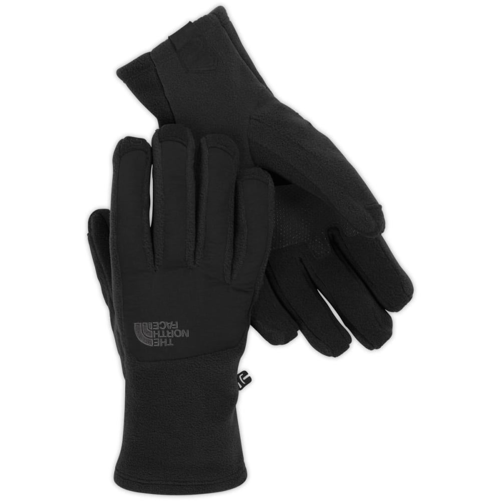 THE NORTH FACE Men's Denali Etip Fleece Gloves - JK3-TNF BLACK