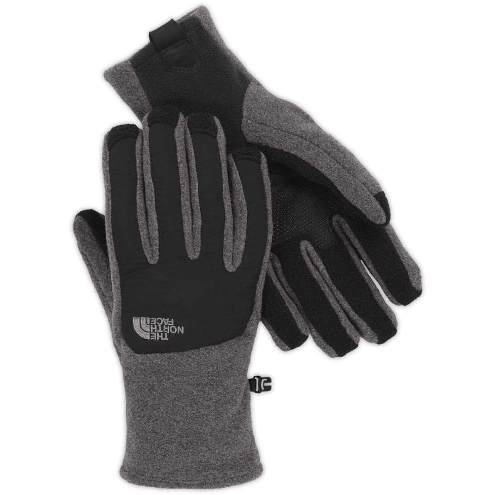 THE NORTH FACE Men's Denali Etip Fleece Gloves - NQ7-CHARCOALGRY/BLA