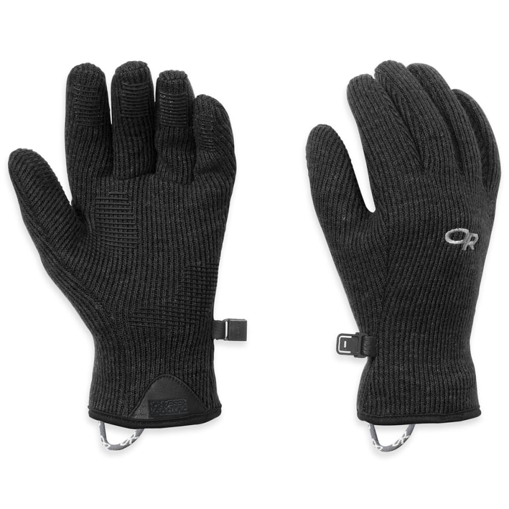 OUTDOOR RESEARCH Women's Flurry Gloves - BLACK