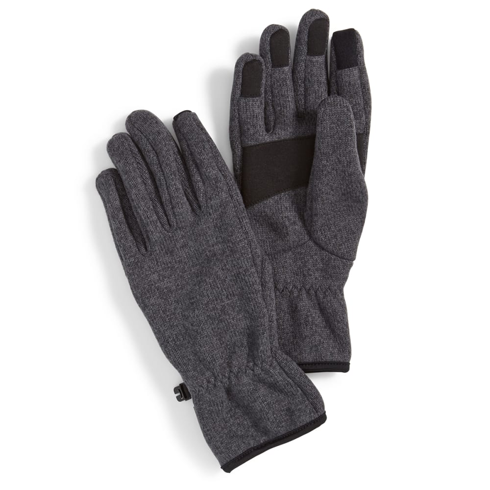 EMS® Men's Roundtrip Fleece Gloves - EBONY HEATHER