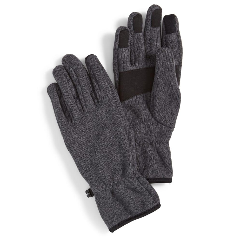 EMS® Men's Roundtrip Fleece Gloves - EBONY HEATHER