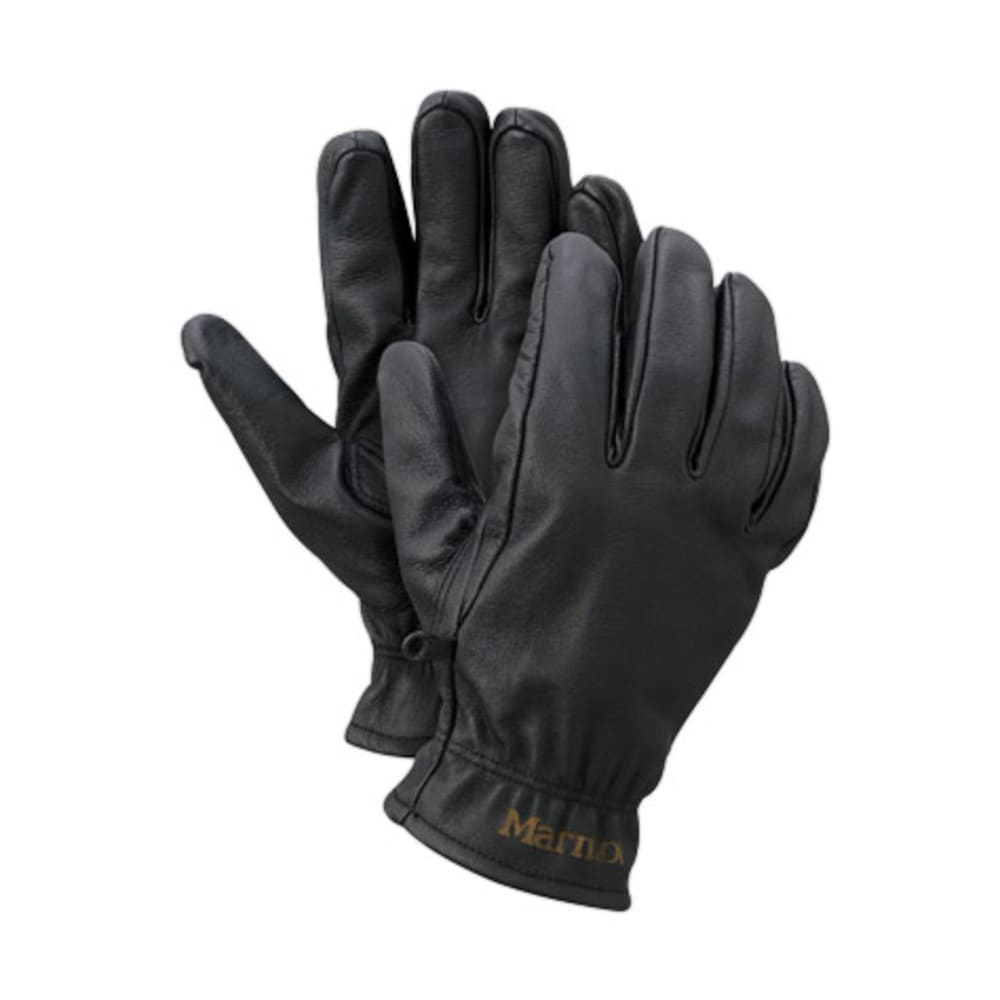 MARMOT Men's Basic Work Gloves - BLACK