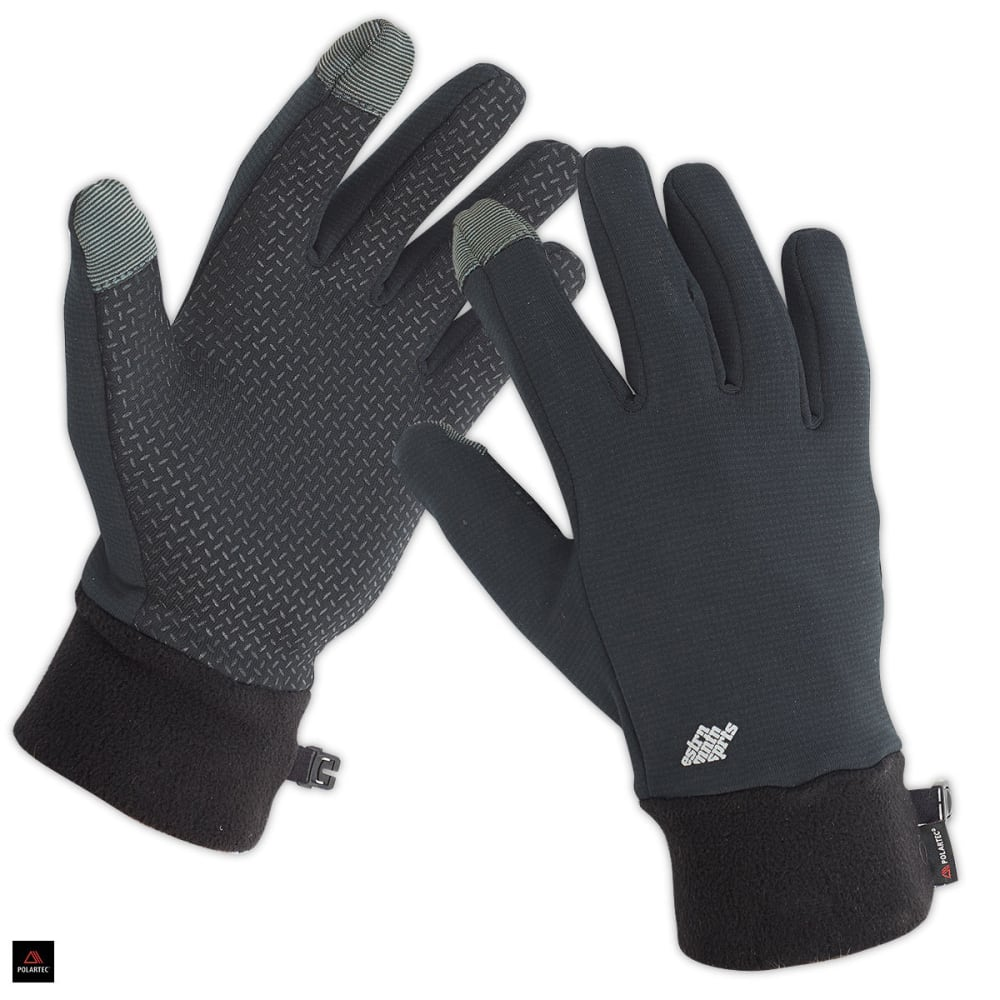 EMS Men's Wind Pro Touchscreen Gloves - EBONY