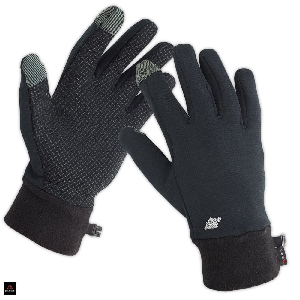 EMS Men's Wind Pro Touchscreen Gloves - JET BLACK