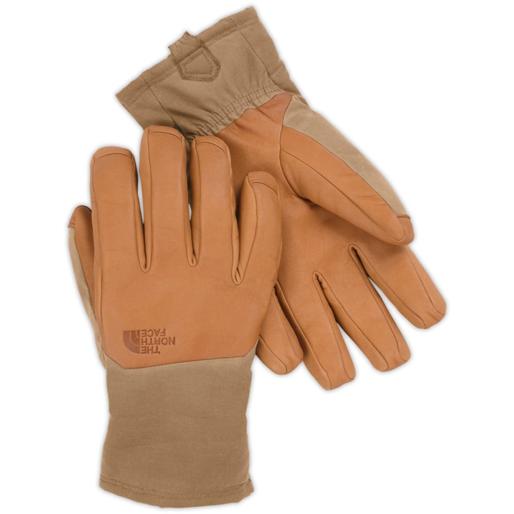 THE NORTH FACE Men's Denali SE Leather Gloves - N1M-DACHSHUND BROWN