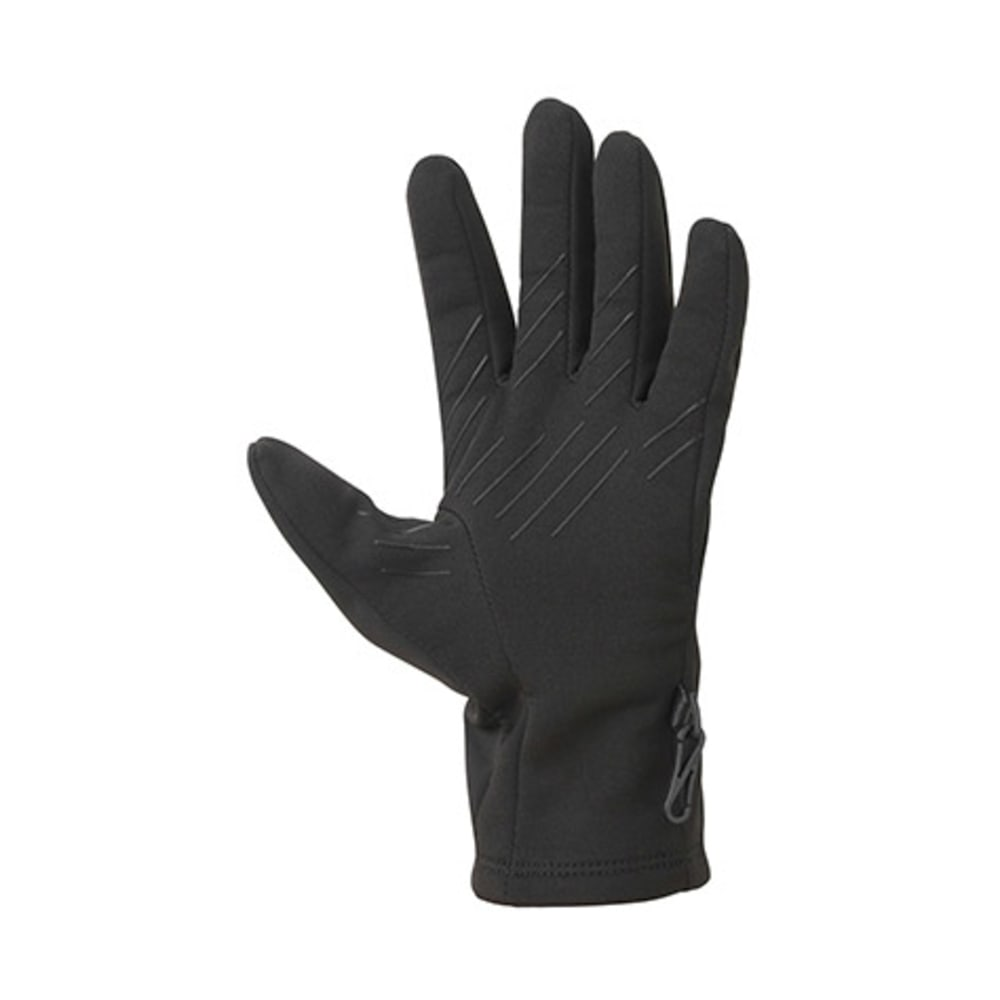 MARMOT Men's Connect Soft Shell Gloves - BLACK