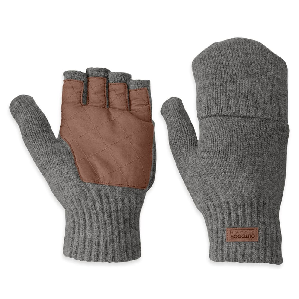 OUTDOOR RESEARCH Men's Lost Coast Mitts - PEWTER