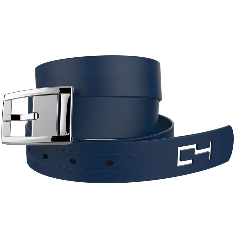 C4 Classic Combo Belt - NAVY/SILVER