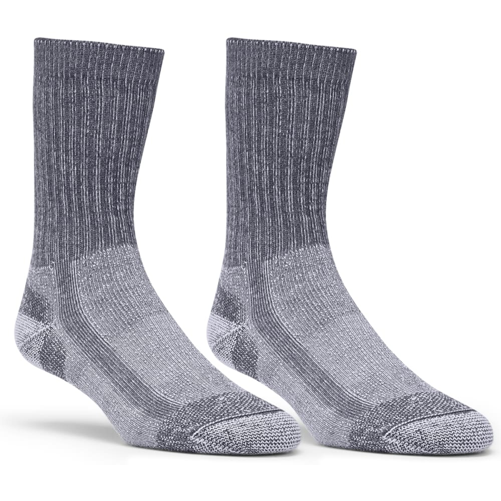 EMS Light Hiking Socks, 2-Pack - CHARCOAL