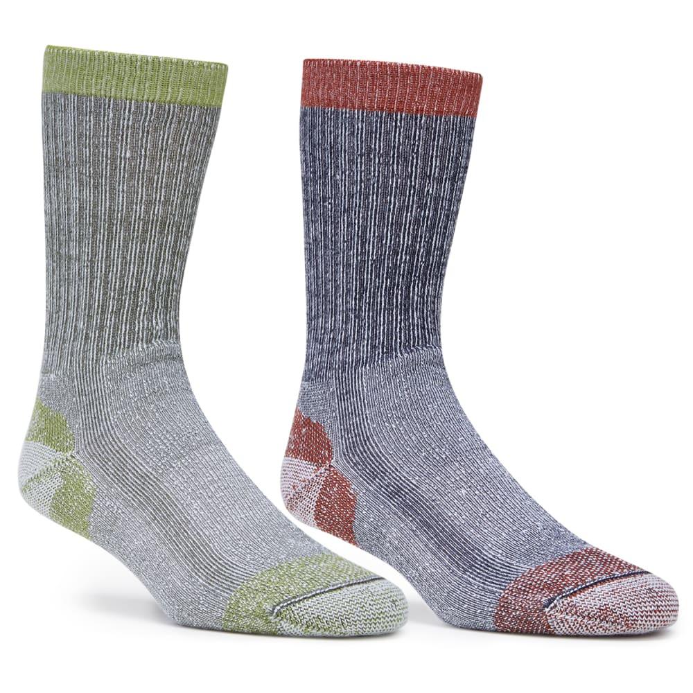 EMS Light Hiking Socks, 2-Pack - BRICK