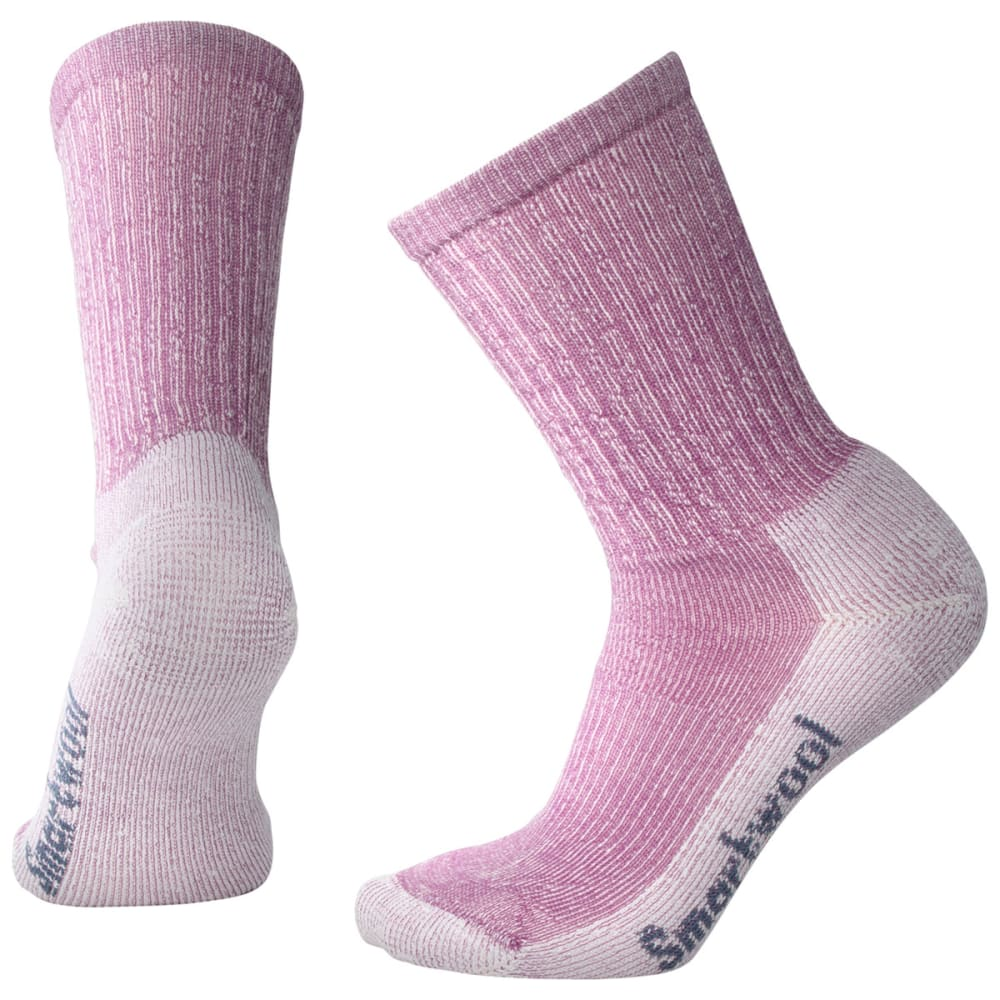 SMARTWOOL Women's Lightweight Crew Socks - A22-MEADOW MAUVE