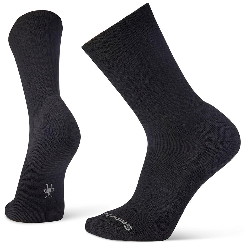SMARTWOOL Men's Heathered Rib Socks - BLACK