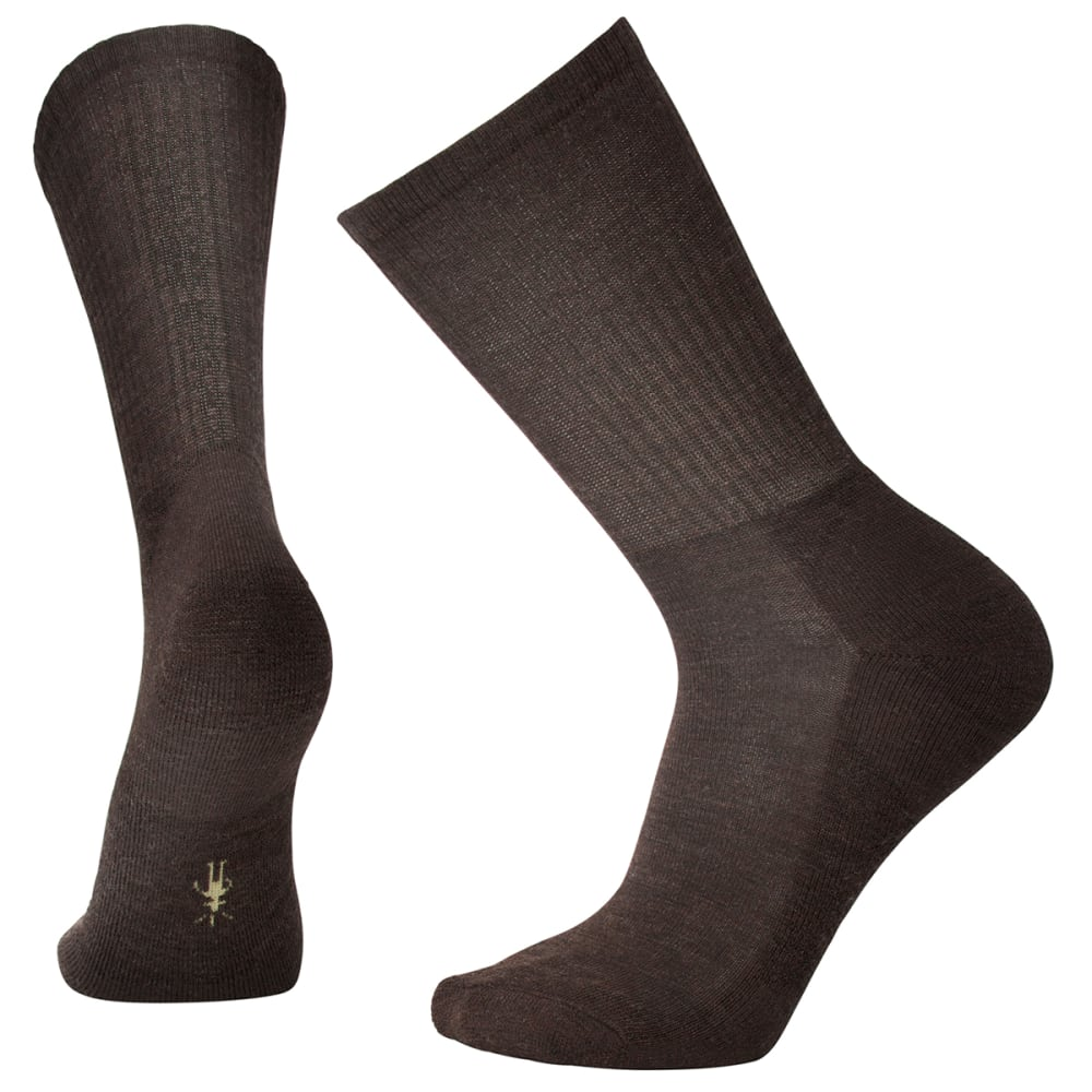 SMARTWOOL Men's Heathered Rib Socks - CHESTNUT