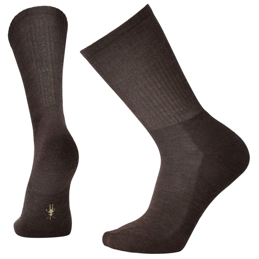 SMARTWOOL Men's Heathered Rib Socks - CHESTNUT