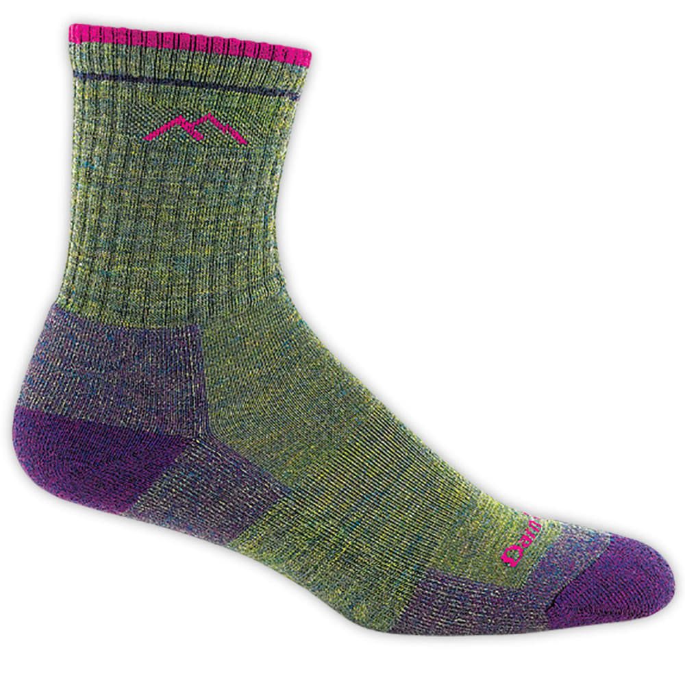 DARN TOUGH Women's Hiker Micro Crew Socks - MOSS