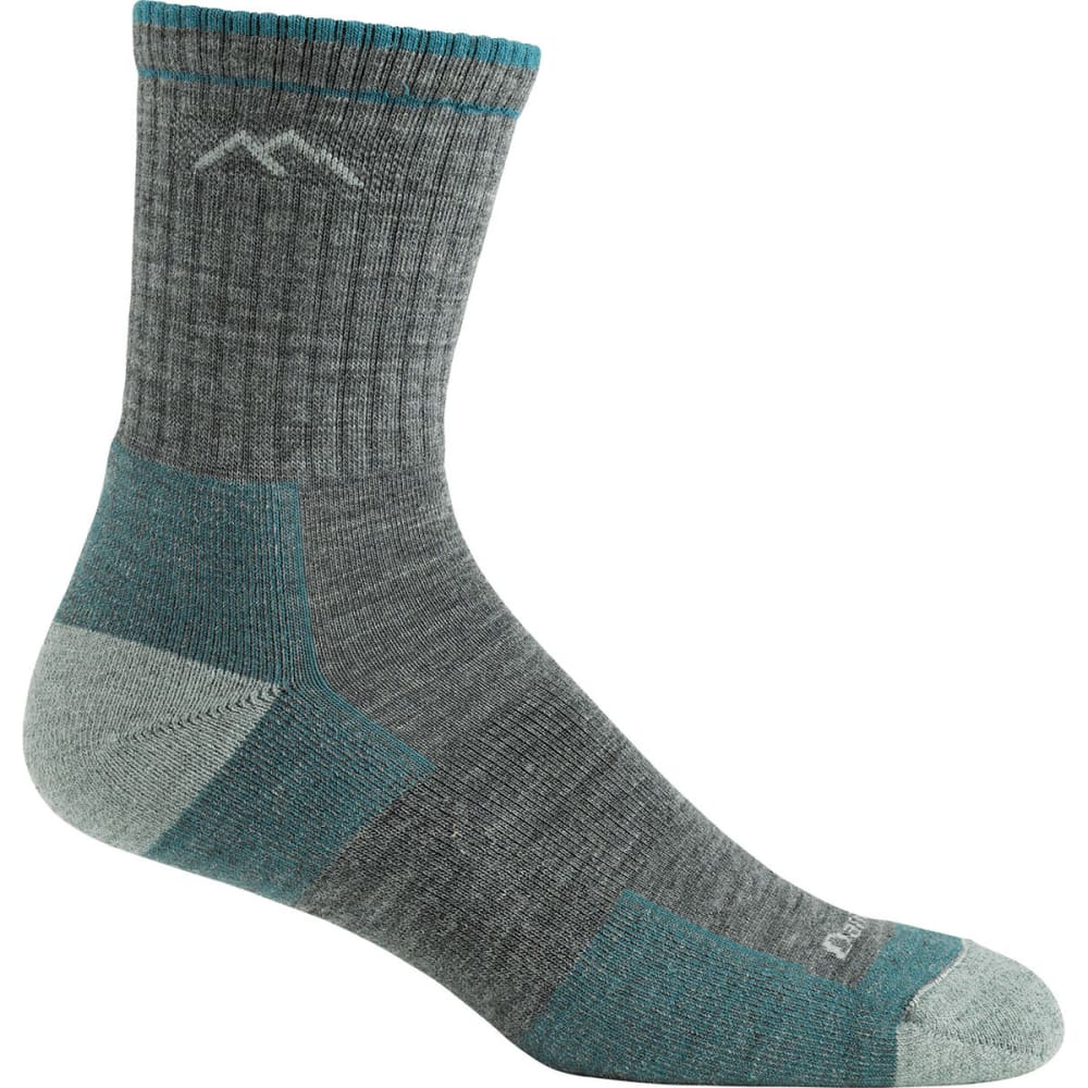 DARN TOUGH Women's Micro Crew 3/4 Hiking Socks - SLATE