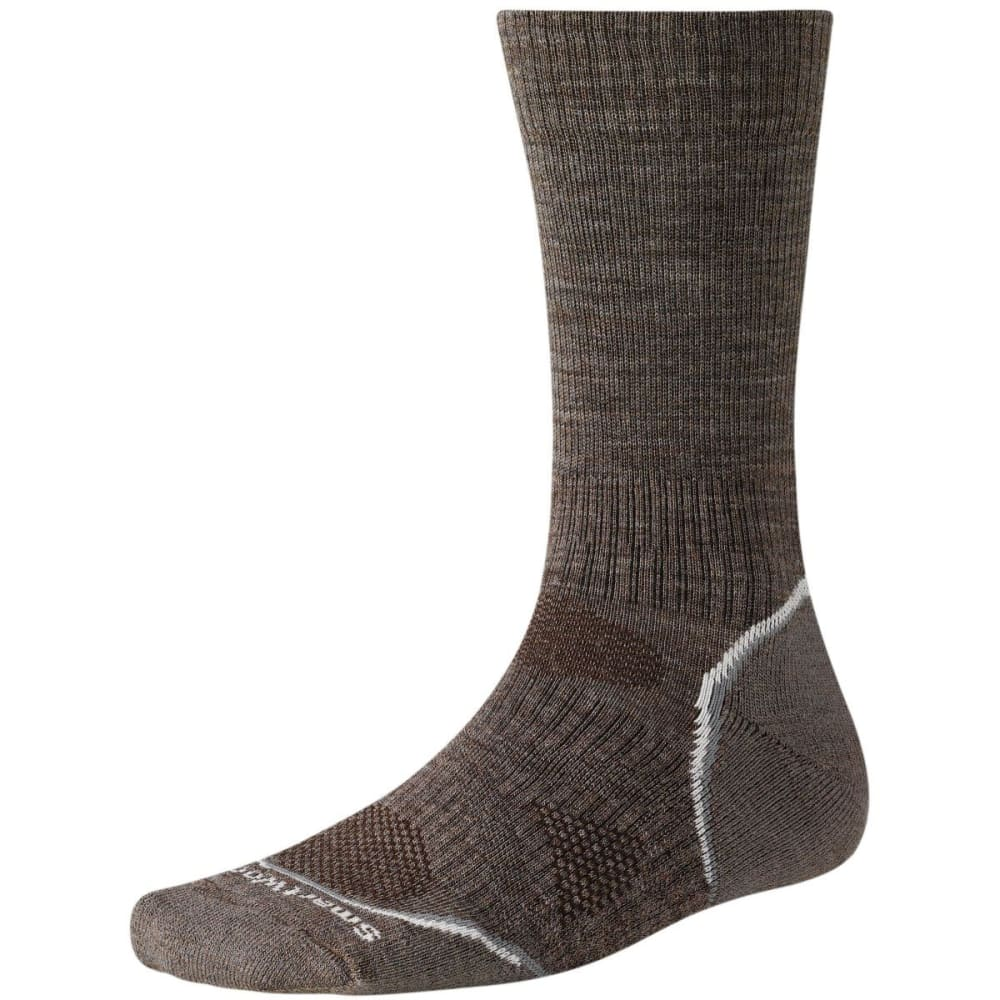 SMARTWOOL PhD Outdoor Light Crew Socks - TAUPE