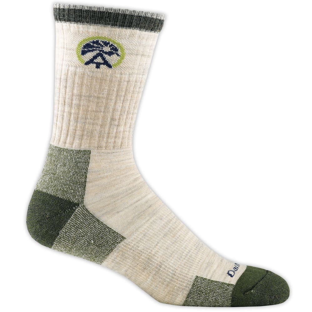 Darn Tough Men's Atc Micro Crew Cushion Socks - Brown 1902