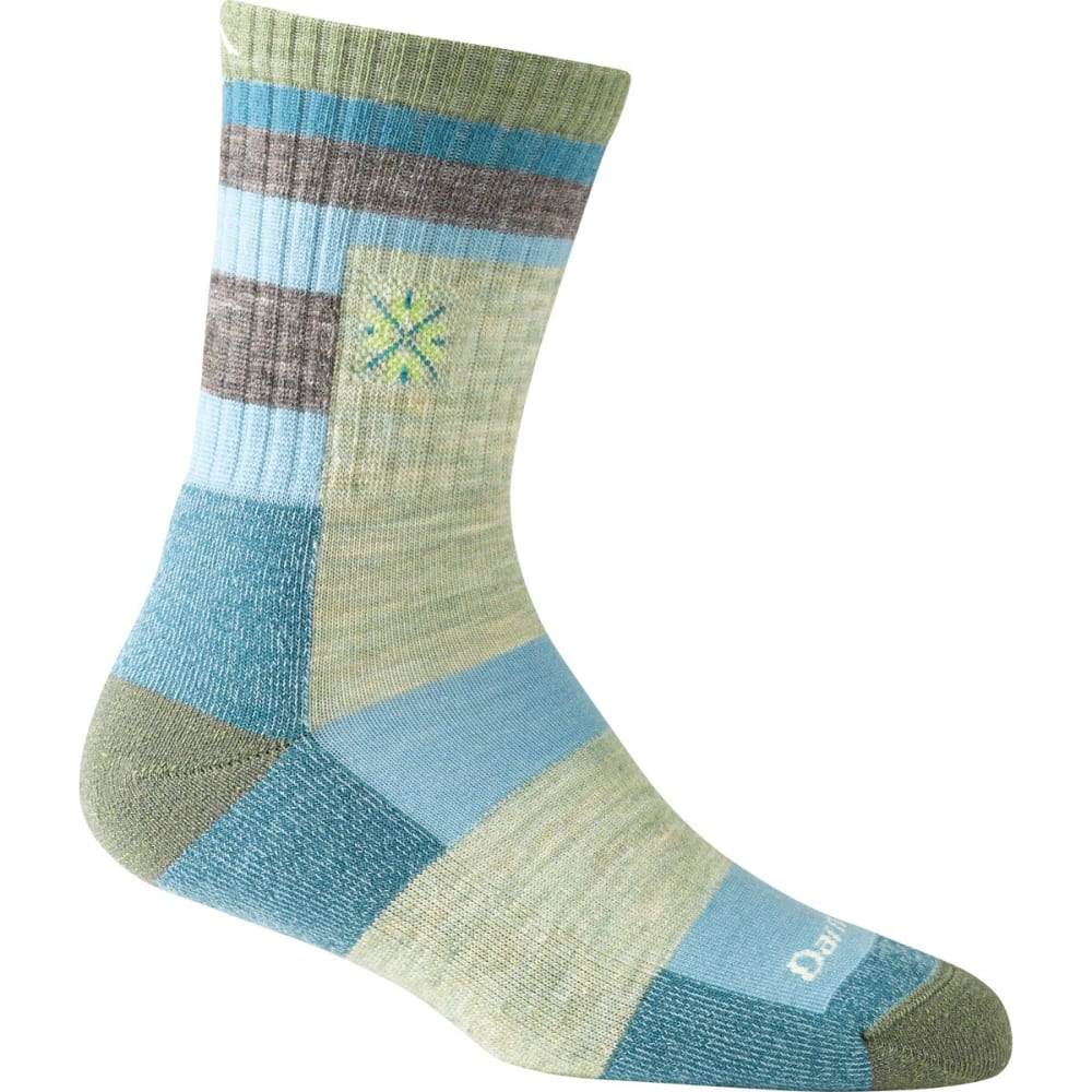 DARN TOUGH Women's Aztec Micro Crew Light Cushion Socks - SWEETPEA