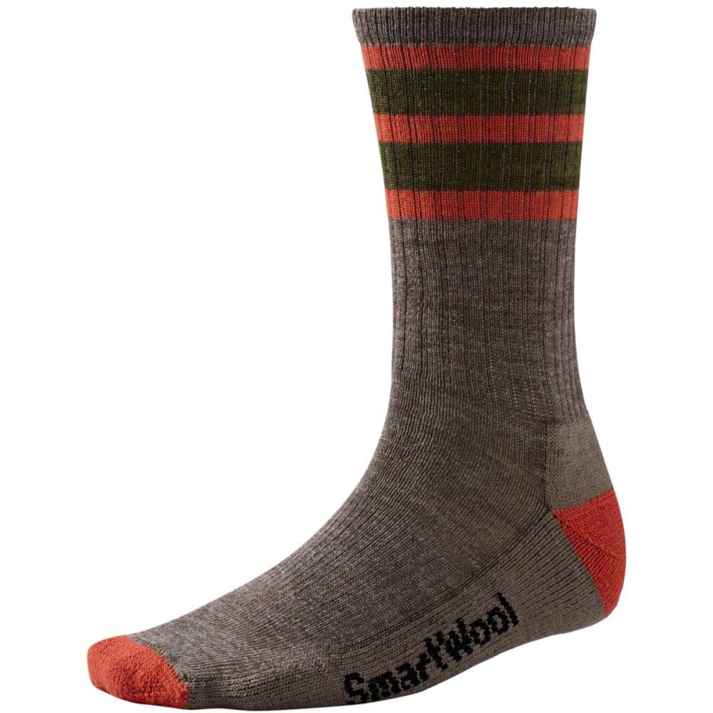 smartwool men 39 s striped hike light crew socks. Black Bedroom Furniture Sets. Home Design Ideas