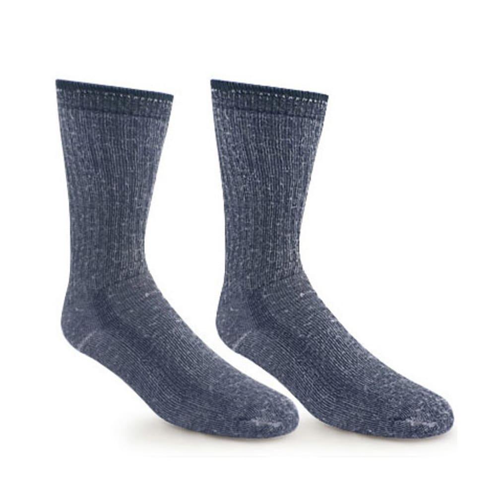 EMS Merino Wool Hiking Socks, 2-Pack - NAVY/NAVY