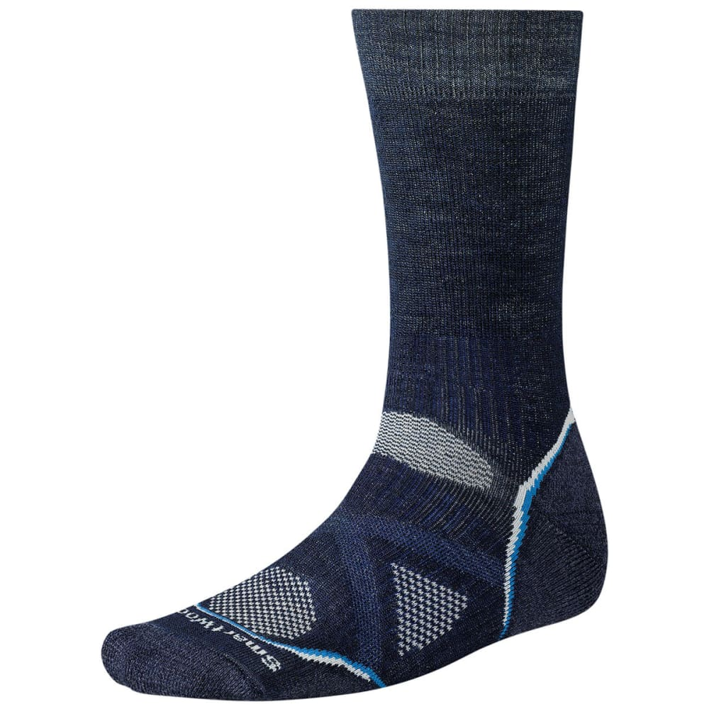 SMARTWOOL PhD Outdoor Medium Crew Socks - NAVY