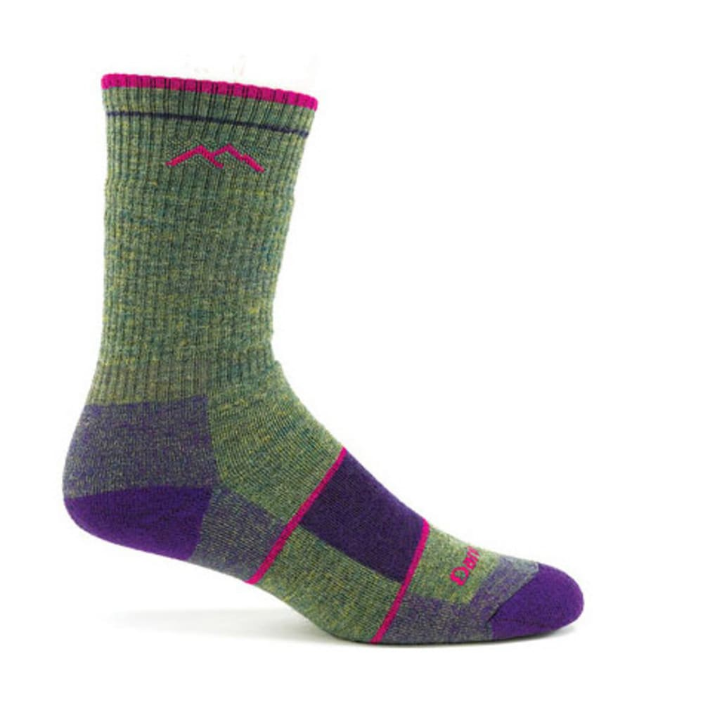 DARN TOUGH Women's Hiker Full Cushion Boot Sock - MOSS