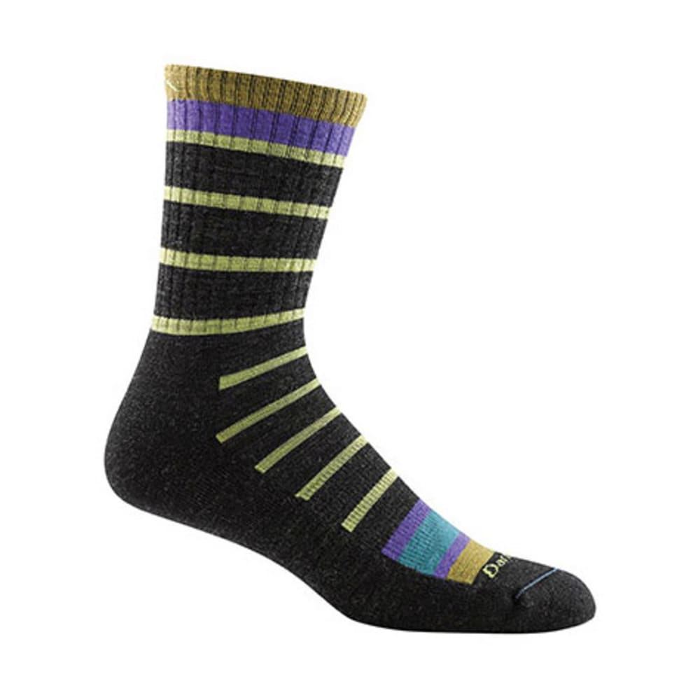 DARN TOUGH Men's Via Ferrata Micro Crew Cushion Socks - CHARCOAL