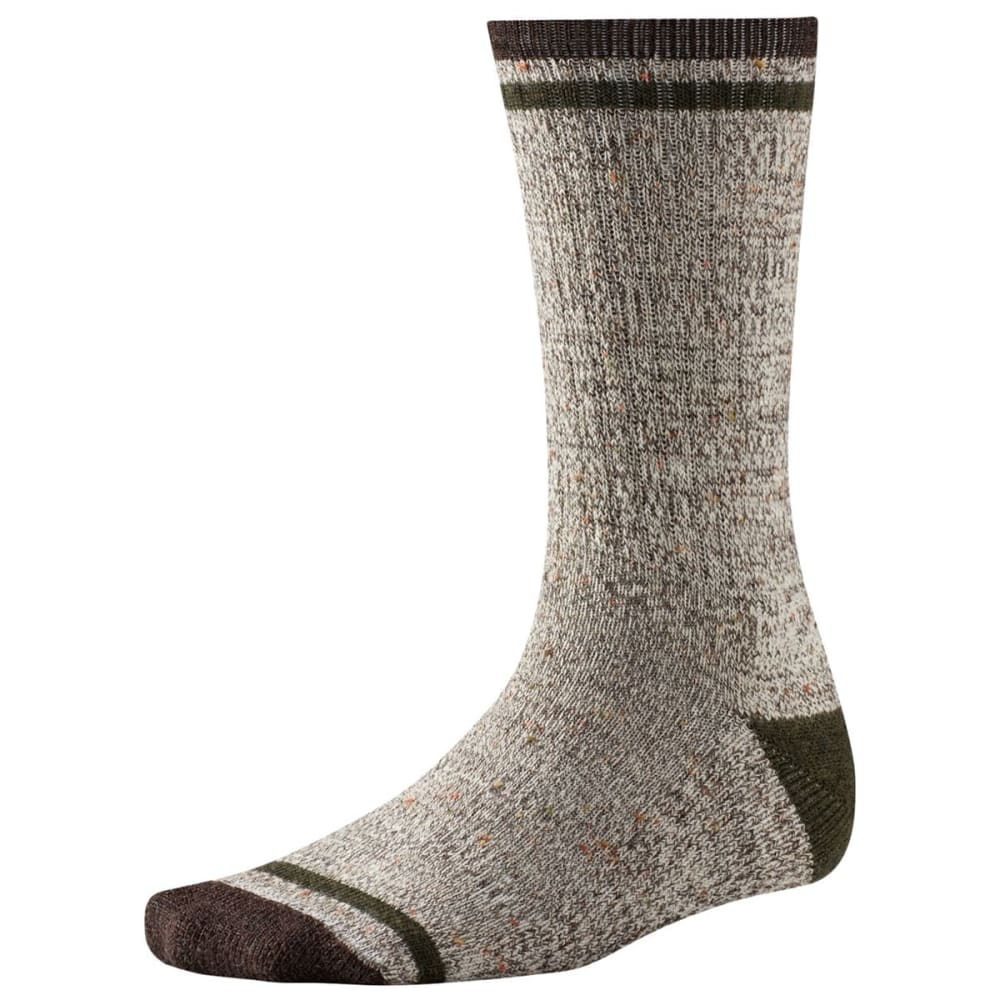SMARTWOOL Men's Larimer Crew Socks - CHESTNUT 207