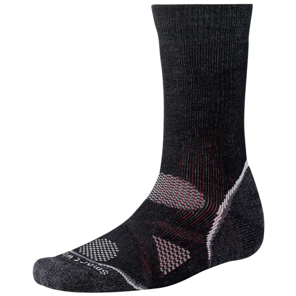 SMARTWOOL PhD Outdoor Heavy Crew Socks - BLACK