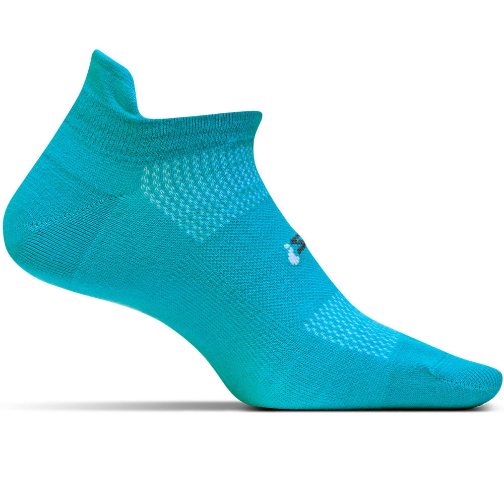 FEETURES! HP Ultra Light No Show Tab Socks - AQUA