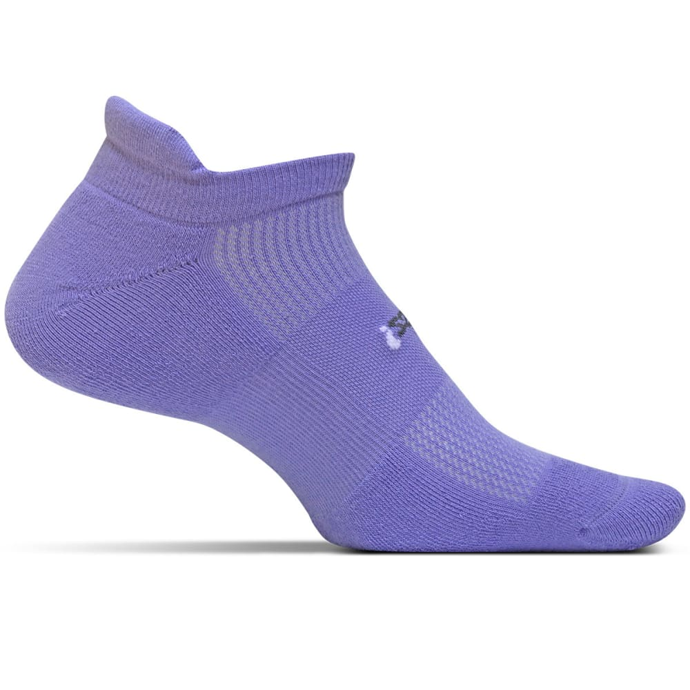 FEETURES! Light Cushion No Show Tab Socks - PERIWINKLE