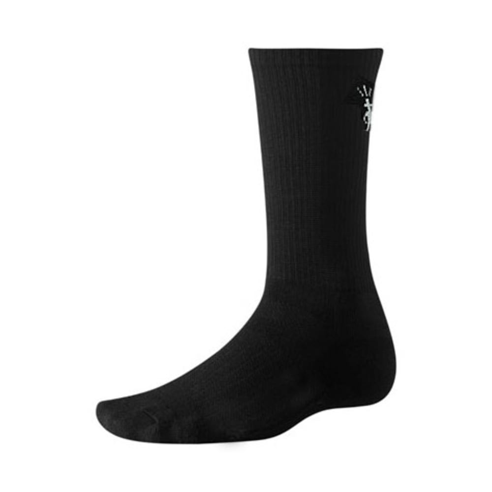 SMARTWOOL Hiking Liner Crew Socks - BLACK
