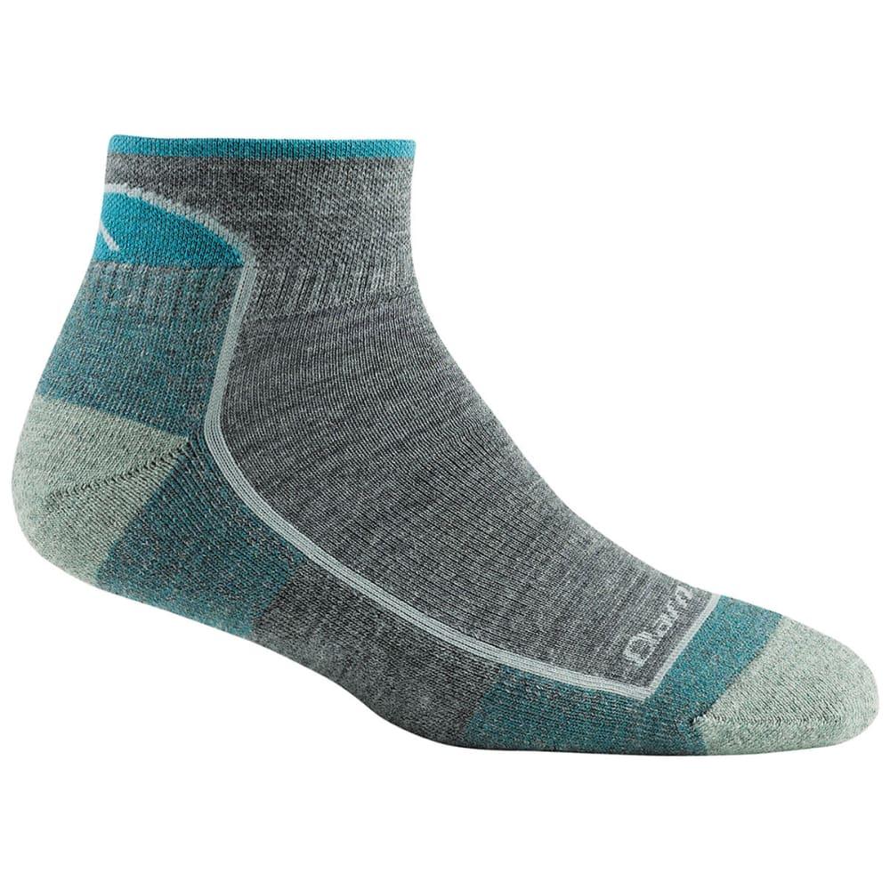 DARN TOUGH Women's Hiker 1/4 Sock Mid-level Cushion - SLATE