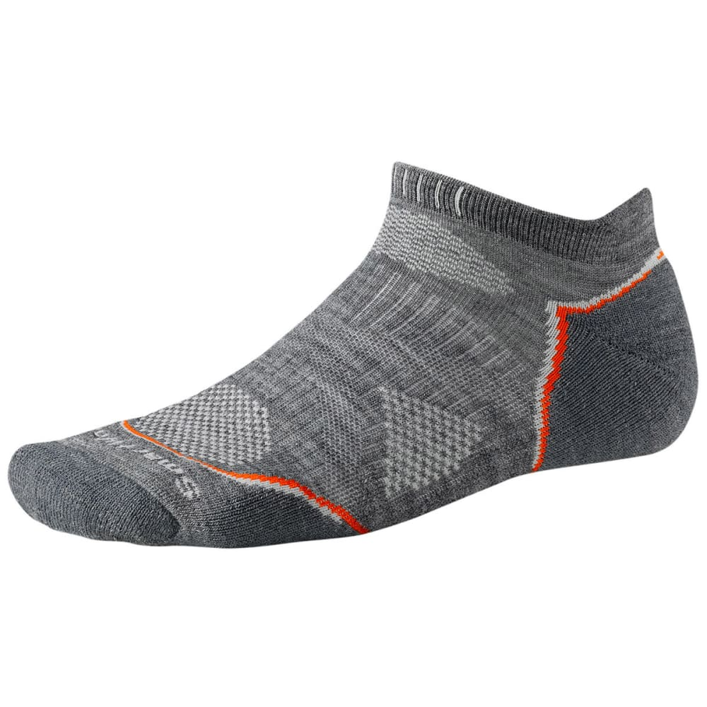 SMARTWOOL PhD Outdoor Light Micro Socks - MEDIUM GRAY