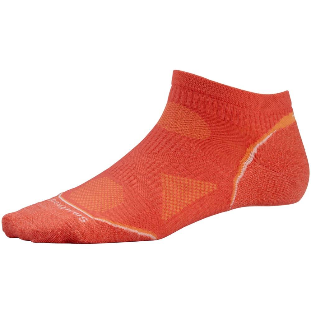 SMARTWOOL Women's PhD Running Ultra Light Micro Socks - POPPY