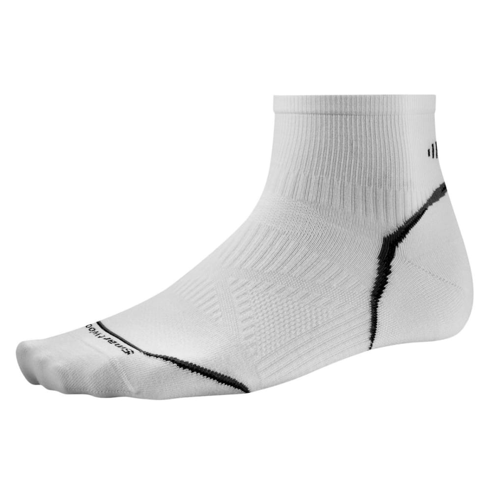 SMARTWOOL PhD Cycle Ultra Light Mini Socks - WHITE