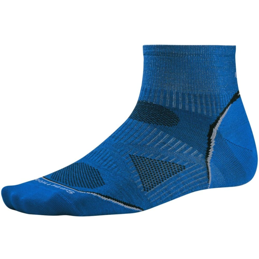 SMARTWOOL PhD Cycle Ultra Light Mini Socks - BRIGHT BLUE-378