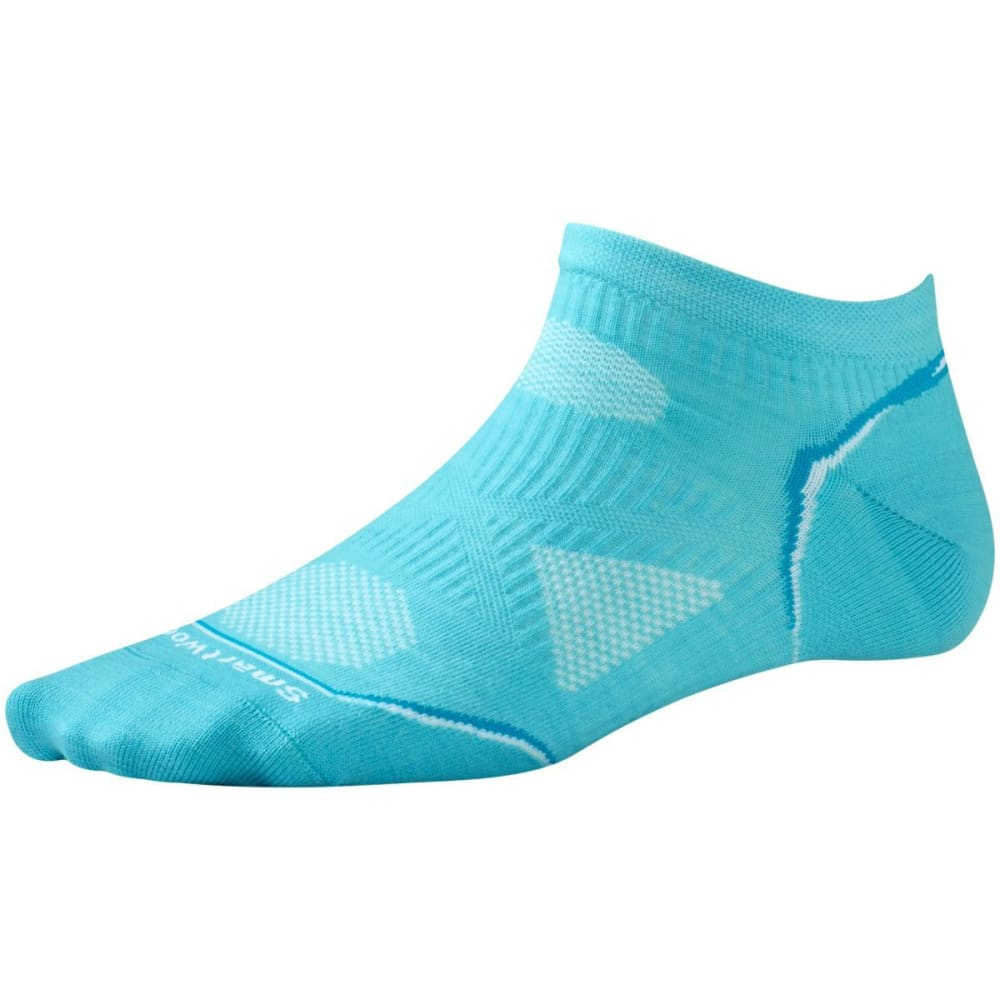 SMARTWOOL Women's PhD Cycle Ultra Light Micro Socks - LIGHT CAPRI-438
