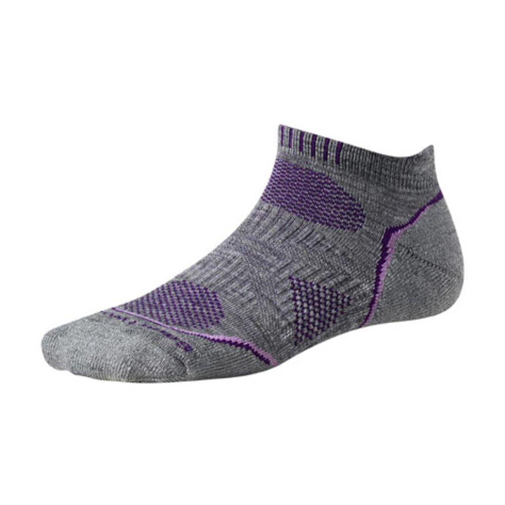 SMARTWOOL Women's PhD Outdoor Light Micro Socks - LT GRAY