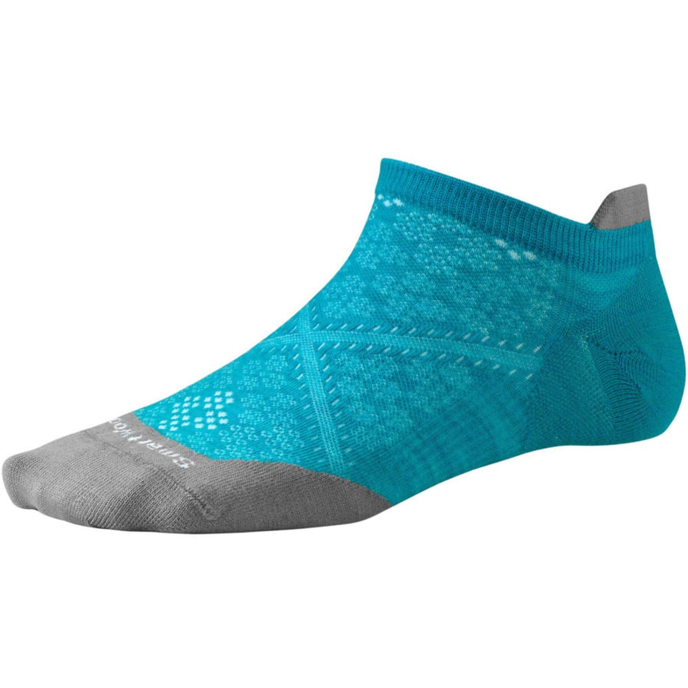 SMARTWOOL Women's PhD Run Ultra Light Micro Socks - CAPRI