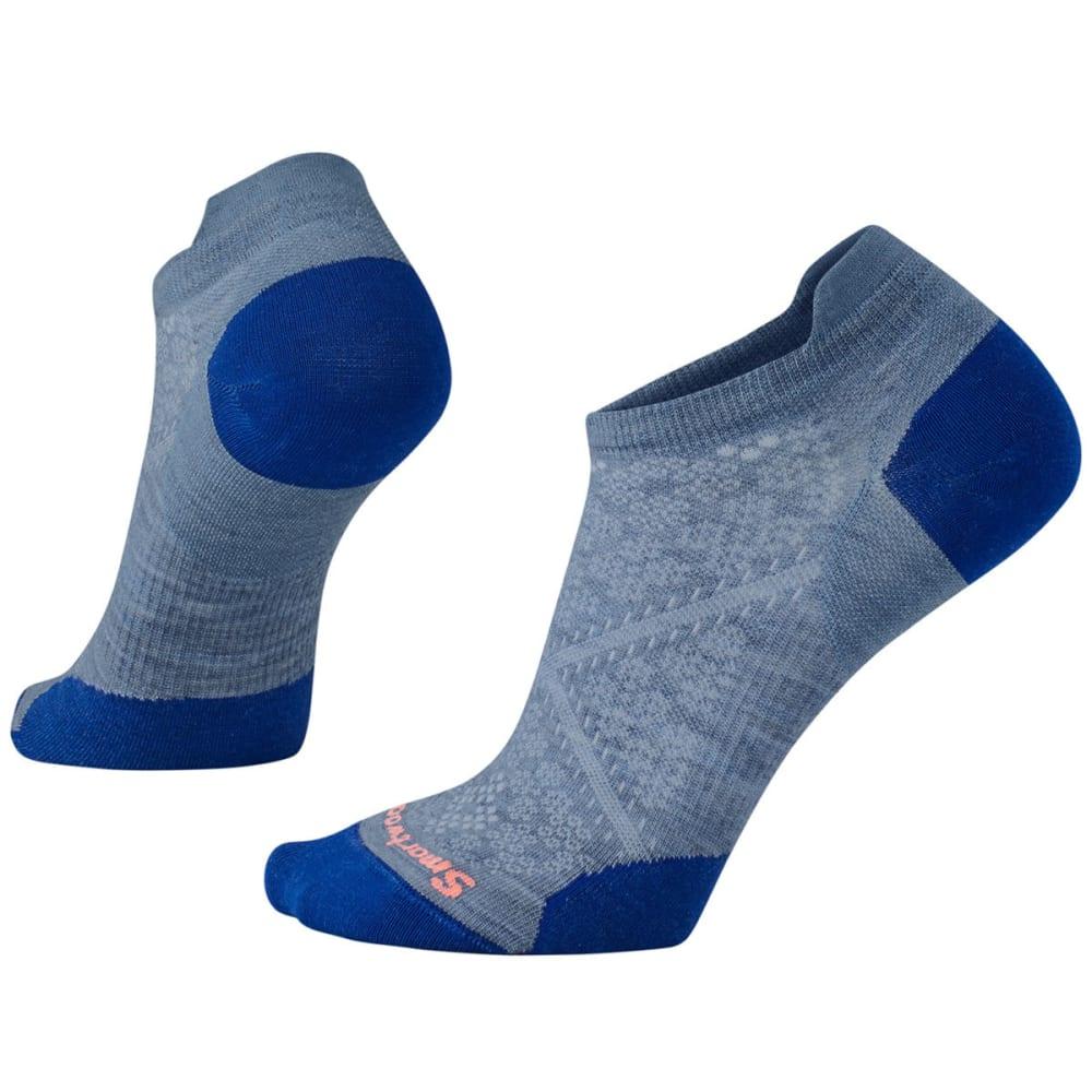 SMARTWOOL Women's PhD Run Ultra Light Micro Socks - 474-BLUE STEEL