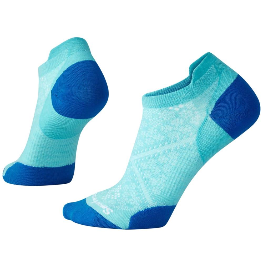 SMARTWOOL Women's PhD Run Ultra Light Micro Socks - 438-LIGHT CAPRI