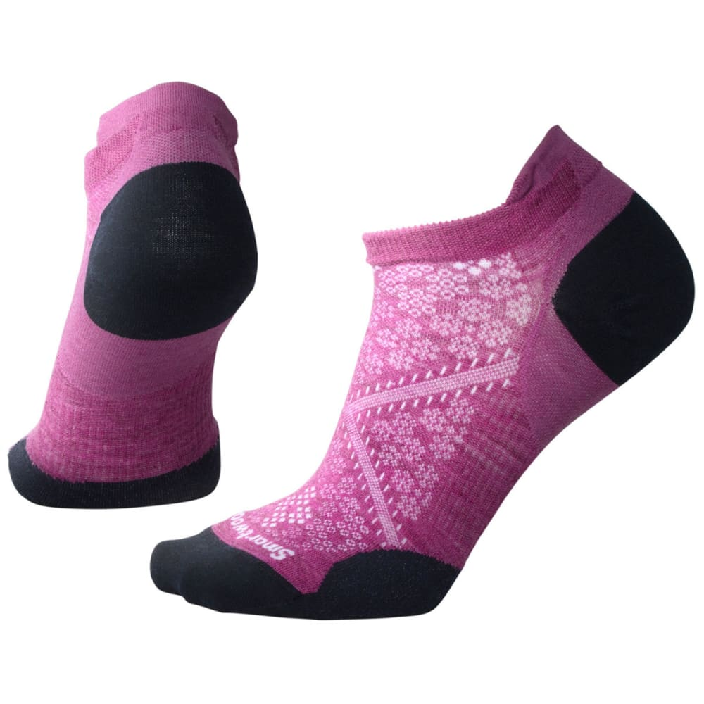 SMARTWOOL Women's PhD Run Ultra Light Micro Socks - A22-MEADOW MAUVE